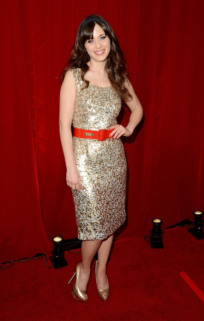 Zooey+Deschanel in The 2012 ESPY Awards - Backstage & Audience