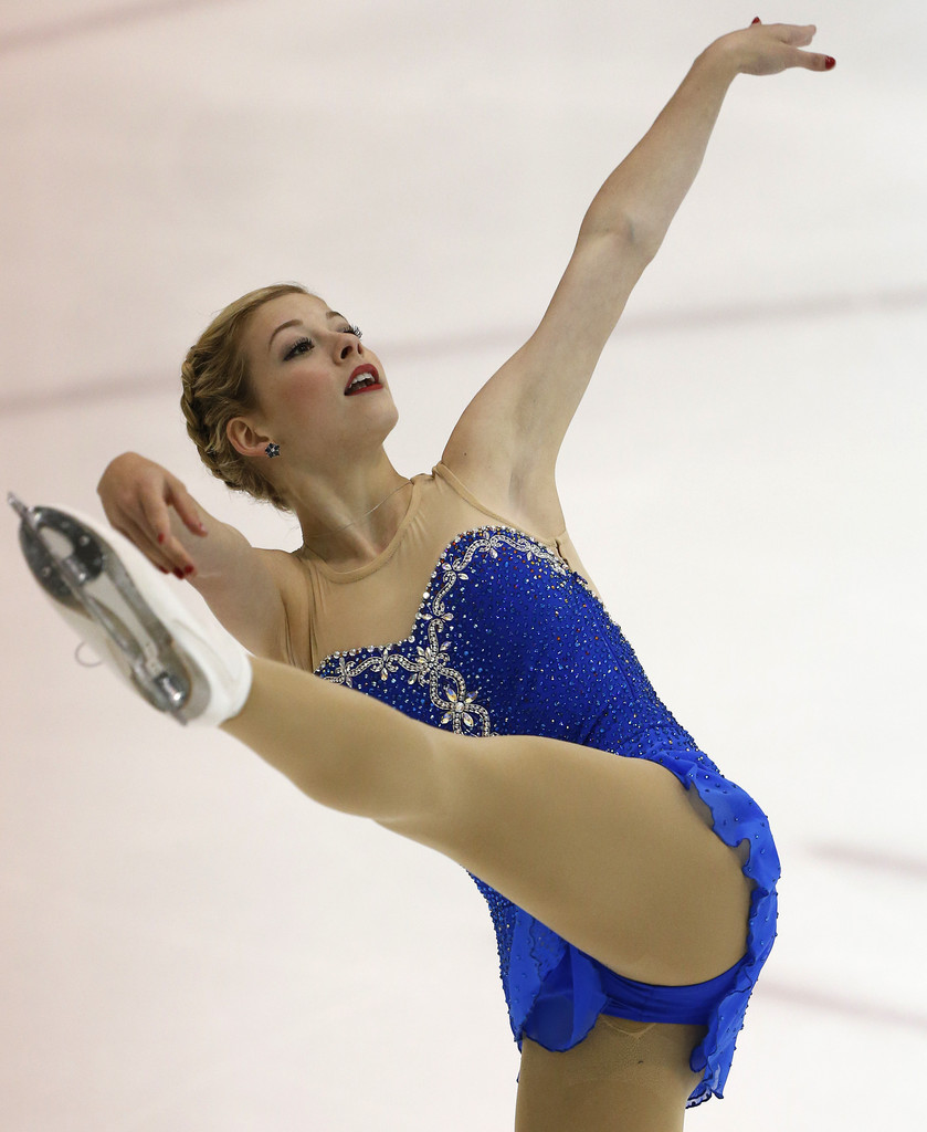 gracie gold in a swimsuit