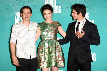 Tyler Posey Dylan O'Brien 2012 MTV Movie Awards - Press Room