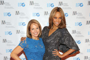 Tyra Banks and Katie Couric Photos Photo
