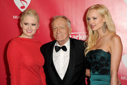 Hugh Hefner and Karissa Shannon Photos Photo