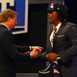 Roger Goodell and Dont'a Hightower