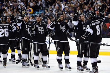 Drew Doughty Alec Martinez 2012 NHL Stanley Cup Final - Game Three