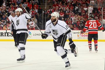 Mike Richards Dustin Penner 2012 NHL Stanley Cup Final - Game Two