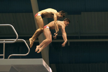 David Boudia Nick McCrory 2012 U.S. Olympic Diving Team Trials - Day 1