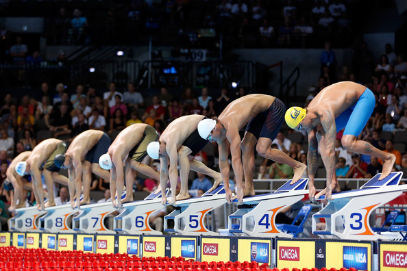 2012 us olympic swimming team trials day 6 - Olympic Swimming Starting Blocks