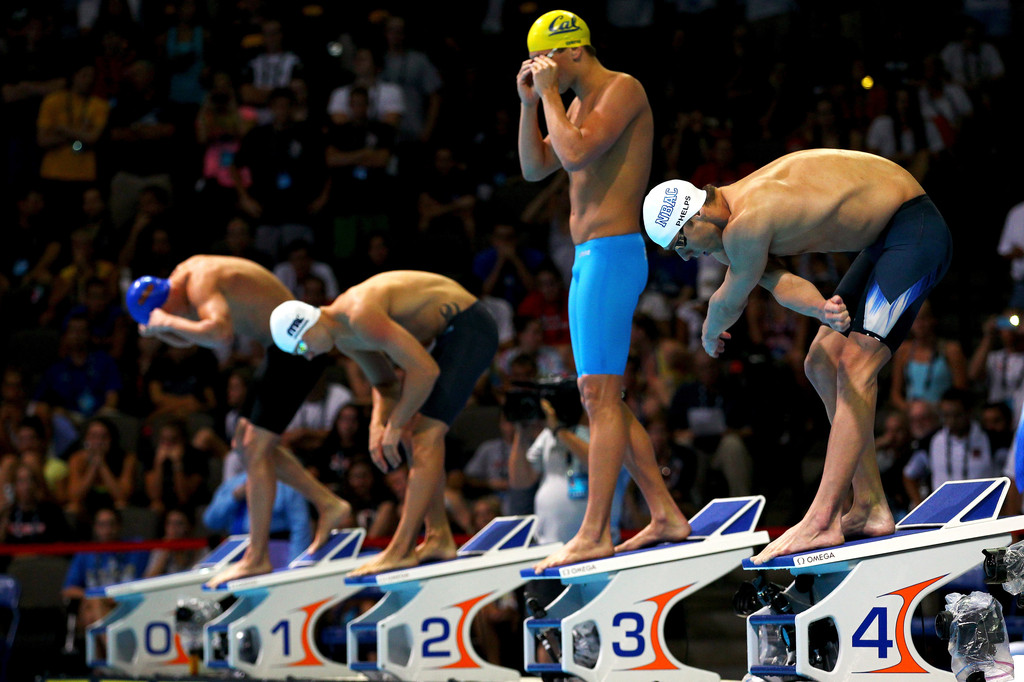 articles on olympic swimmers
