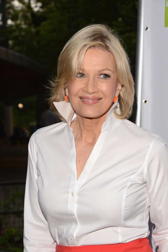 Diane Sawyer arrives at Lincoln Centers American Songbook