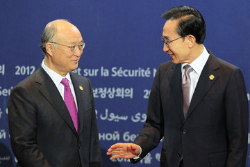 Yukiya Amano 2012 Seoul Nuclear Security Summit Begins