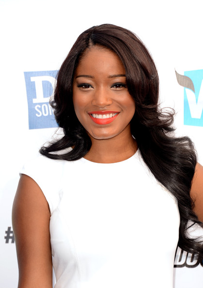 Actress Keke Palmer arrives at the 2012 Do Something Awards at Barker Hangar on August 19, 2012 in Santa Monica, California.