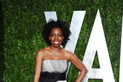 Actress Adepero Oduye arrives at the 2012 Vanity Fair Oscar Party hosted by Graydon Carter at Sunset Tower on February 26, 2012 in West Hollywood, California.