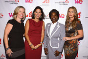 (L-R) Kathy Payne, VP, Content Acquisition, Cox Communications, Jennifer Hightower, Senior Vice President of Law and Policy for Cox Communications and 2012 Woman to Watch award winner,  FCC Commissioner Mignon Clyburn and  WE tv's Jennifer Robertson, Senior Vice President, Digital Media & Business Development and 2012 Woman to Watch award winner pose for a photo at the 2012 WICT Touchstones Luncheon at Hilton New York on September 10, 2012 in New York City.