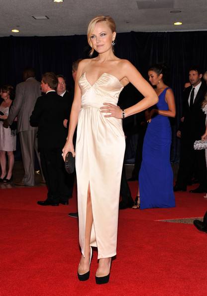 Actress Malin Akerman attends the 98th Annual White House Correspondents' Association Dinner at the Washington Hilton on April 28, 2012 in Washington, DC.