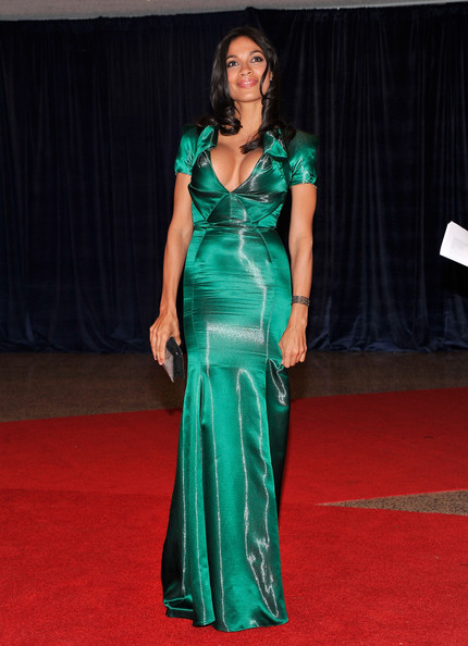 Actress Rosario Dawson attends the 98th Annual White House Correspondents' Association Dinner at the Washington Hilton on April 28, 2012 in Washington, DC.