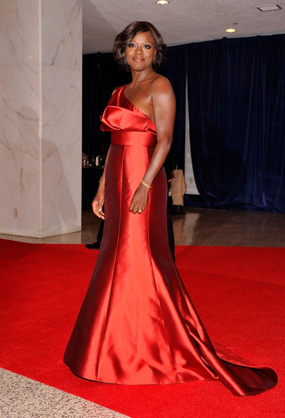 Actress Viola Davis attends the 98th Annual White House Correspondents' Association Dinner at the Washington Hilton on April 28, 2012 in Washington, DC.