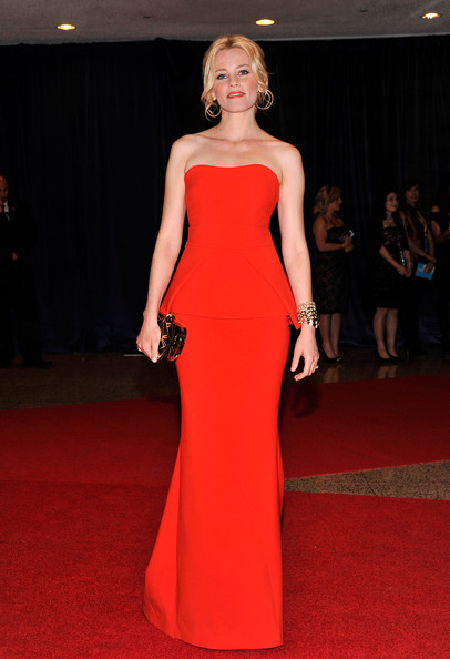 Actress Elizabeth Banks attends the 98th Annual White House Correspondents' Association Dinner at the Washington Hilton on April 28, 2012 in Washington, DC.