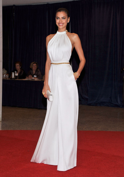 Model Irina Shayk attends the 98th Annual White House Correspondents' Association Dinner at the Washington Hilton on April 28, 2012 in Washington, DC.