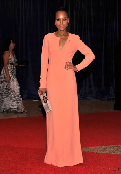 Kerry Washington attends the 98th Annual White House Correspondents' Association Dinner at the Washington Hilton on April 28, 2012 in Washington, DC.