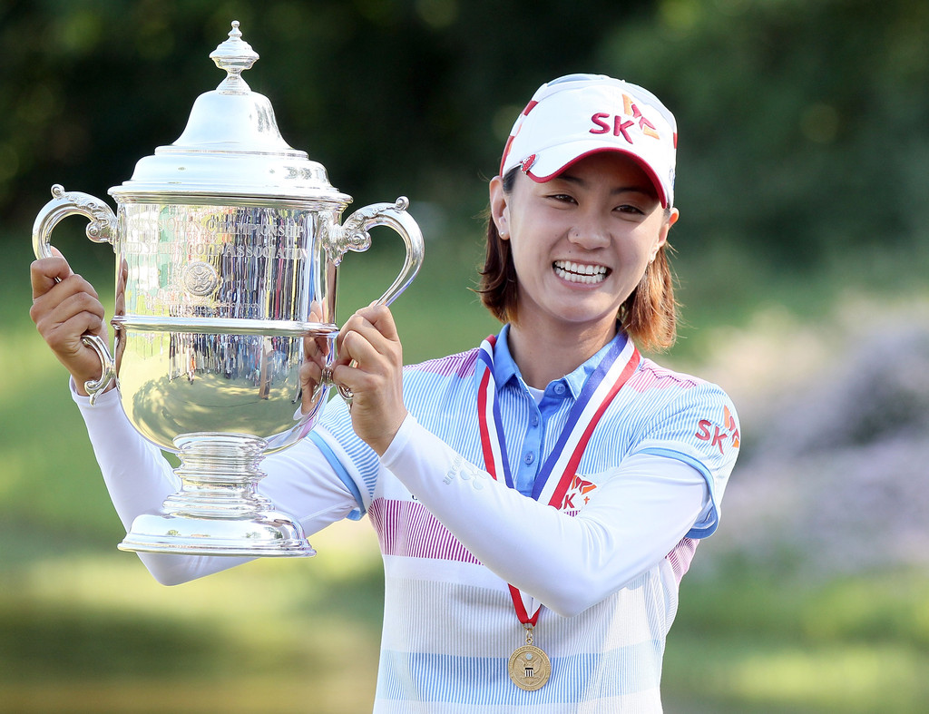 2012 Women Open Final Round       Na Yeon Choi Swing