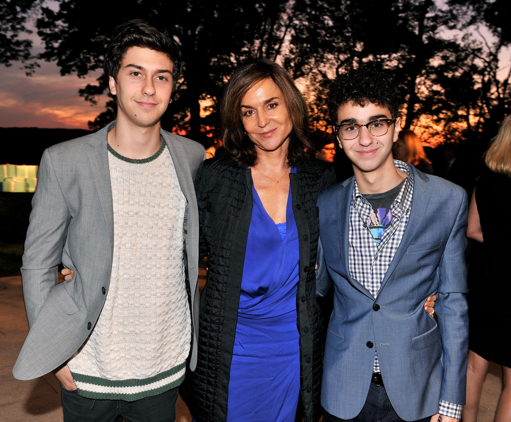 Nat & Alex Wolff (with their beautiful mom Polly Draper!)