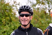 Cyclist George Hincapie attends the start of the 2013 Audi Best Buddies Challenge: Washington, DC on October 19, 2013 at Poolesville Golf Course in Poolesville, Maryland.