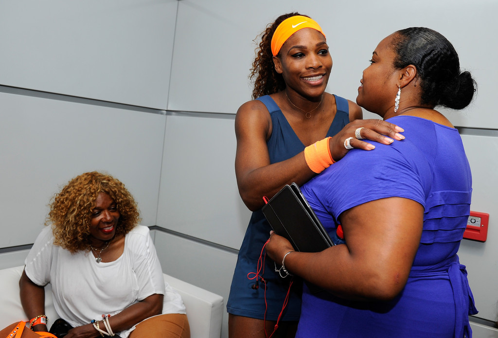 Photo of Venus Williams & her Sister  Lyndrea Price