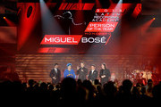 Miguel Bose and Lucia Bose Photos Photo