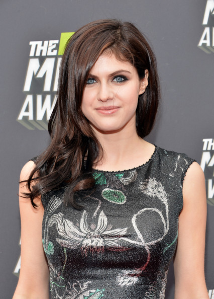 Alexandra Daddario in Arrivals at the MTV Movie Awards 4 ...