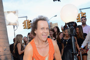 TV Personality Richard Simmons attends the 2013 MTV Video Music Awards at the Barclays Center on August 25, 2013 in the Brooklyn borough of New York City.