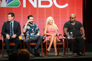 Christina Aguilera and Carson Daly Photos Photo