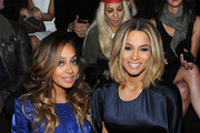 LaLa Anthony and Ciara attend the 2013 Victoria's Secret Fashion Show at Lexington Avenue Armory on November 13, 2013 in New York City.