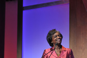 Acting Chairwoman of the Federal Communications Commission Mignon Clyburn speaks during the 2013 Women in Cable Telecommunications Signature Luncheon at Walter E. Washington Convention Center on June 10, 2013 in Washington, DC.