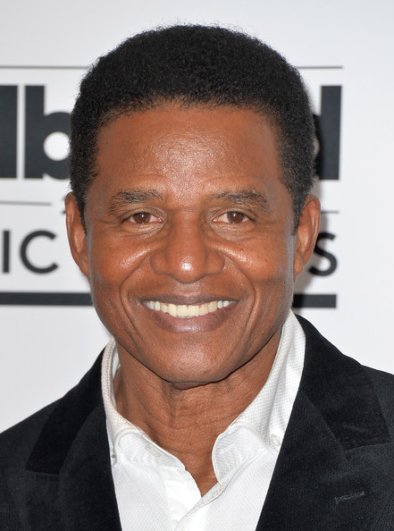 The 66-year old son of father (?) and mother(?), 176 cm tall Jackie Jackson in 2017 photo