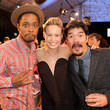 Keith Stanfield and Brie Larson