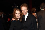 Producer Jerry Bruckheimer (R) and Linda Bruckheimer attend the 2014 LACMA Art + Film Gala honoring Barbara Kruger and Quentin Tarantino presented by Gucci at LACMA on November 1, 2014 in Los Angeles, California.