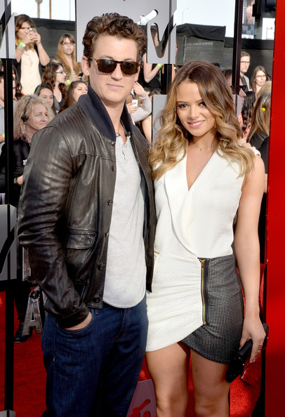 Miles Teller with sexy, cute, nice, Girlfriend Keleigh Sperry