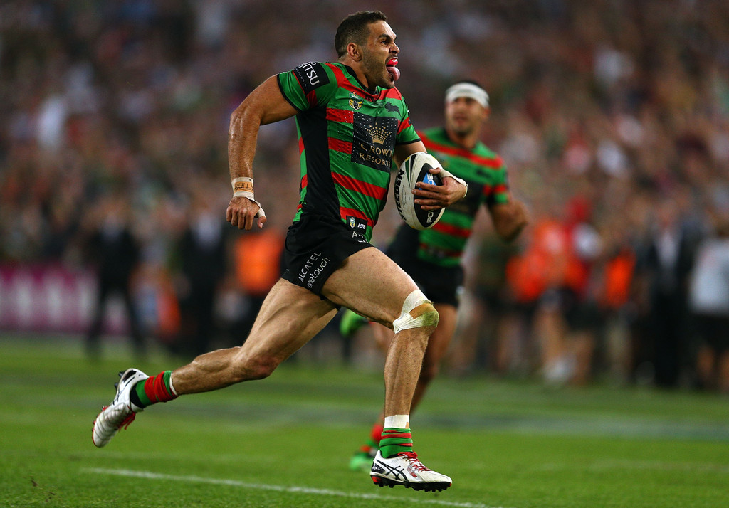 Greg Inglis In 2014 Nrl Grand Final South Sydney V