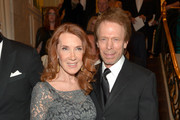 Princess Grace Awards Gala Host Committee members Linda Bruckheimer (L) and Jerry Bruckheimer attend the 2014 Princess Grace Awards Gala with presenting sponsor Christian Dior Couture at the Beverly Wilshire Four Seasons Hotel on October 8, 2014 in Beverly Hills, California.