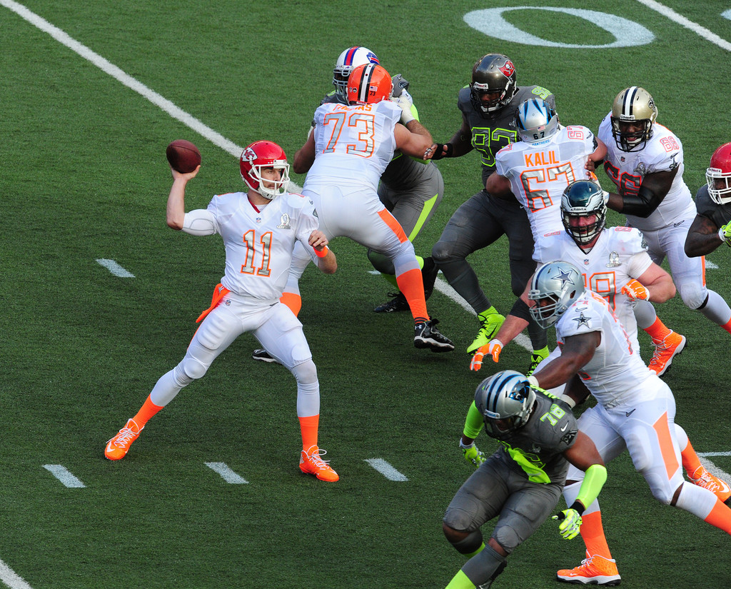new arrival 2b127 79bdb Alex Smith Photos Photos - 2014 Pro Bowl - Zimbio