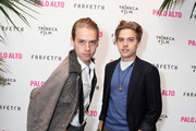 (L-R)Dylan and Cole Sprouse attend The 2014 Tribeca Film Festival After Party Of Gia Coppola's Palo Alto, Hosted By Farfetch At Up&Down  on April 24, 2014 in New York City.