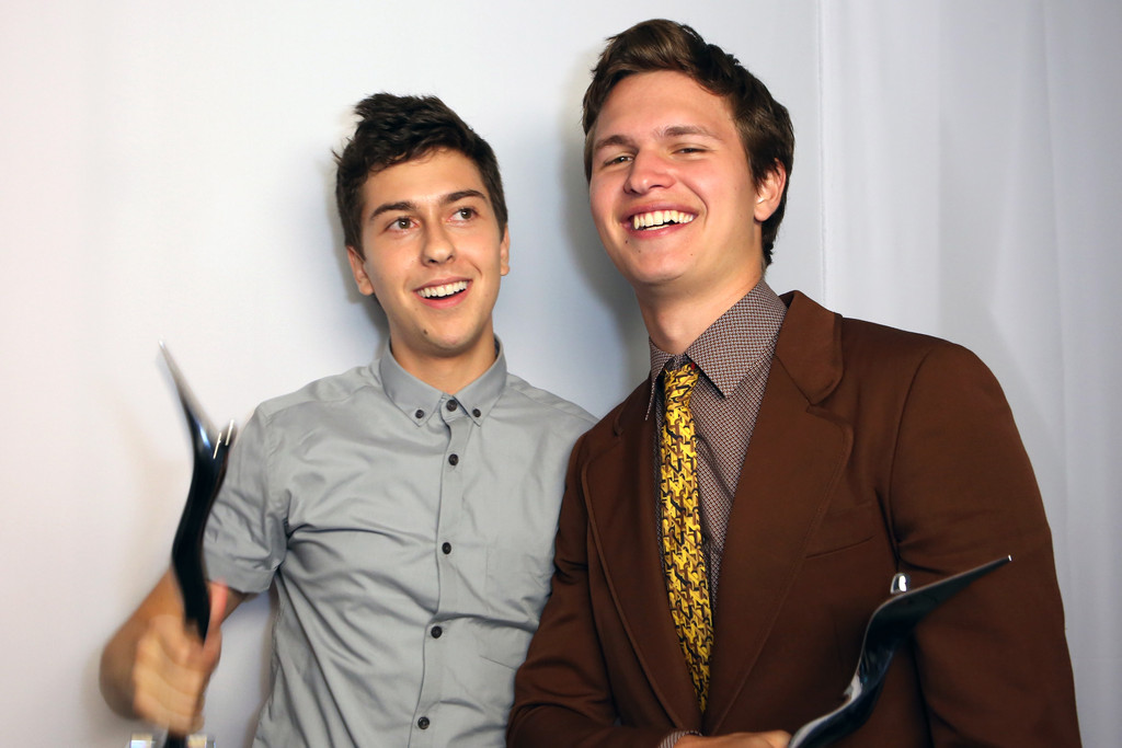 Nat Wolff and Ansel Elgort Photos Photos - Inside the ...
