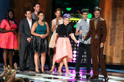 Danielle Brooks, Matt McGorry, Pablo Schreiber, Dascha Polanco, Alysia Reiner, Host Kelly Oscourne, Nat Wolff, Ansel Elgort onstage at the 2014 Young Hollywood Awards brought to you by Samsung Galaxy at The Wiltern on July 27, 2014 in Los Angeles, California. The Young Hollywood Awards will air on Monday, July 28 8/7c on The CW.