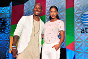 Kelly Rowland and Tyrese Speak Onstage at the 2015 BET Experience in LA