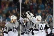 Robyn Regehr and Jonathan Quick Photos Photo