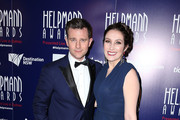 David Campbell and Lisa Campbell arrives at the 2015 Helpmann Awards at the Capitol Theatre on July 27, 2015 in Sydney, Australia.
