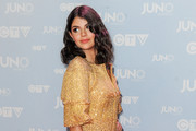 Nikki Yanofsky arrives at the Juno Awards at FirstOntario Centre on March 15, 2015 in Hamilton, Canada.