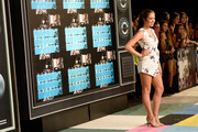 Internet personality Claudia Sulewski attends the 2015 MTV Video Music Awards at Microsoft Theater on August 30, 2015 in Los Angeles, California.