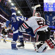 Ryan Callahan and Corey Crawford Photos