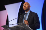 Former Yankee player Mariano Rivera speaks onstage during the Naturalization Ceremony at Festival PEOPLE En Espanol 2015 presented by Verizon at Jacob Javitz Center on October 18, 2015 in New York City.