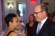 Prince Albert II and Carly Hughes Photos Photo